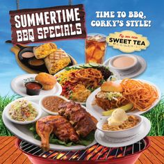 EXPIRED | Summer BBQ Specials! | Corky's Homestyle Kitchen and Bakery | Best BBQ Breakfast, Lunch and Dinner in the Inland Empire and Orange County | Best Apple Cobbler in the IE and OC | Open 24/7 | Recipes for Life™