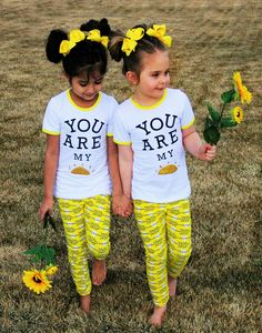 """""""You Are My Sunshine"""" Boutique Set #boutique-outfits #new #newborn-clothing #newborn-sets #perfect-sets #spring-line"""