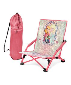 Another great find on #zulily! Frozen Folding Lounge Chair by Frozen #zulilyfinds