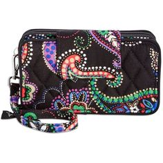Vera Bradley Smartphone Wristlet for iPhone 7 ($48) ❤ liked on Polyvore featuring accessories, tech accessories, kiev paisley, smart phone wristlet, vera bradley, iphone wristlets, wristlet smartphone and vera bradley wristlet