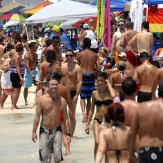The Pensacola area has once again opened its collective arms to a massive influx of LGBT tourists who visit each year during the weekend preceding
