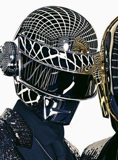 Daft Punk for Dior Homme Les Essentiels. Daft Punk, Black Tuxedo Jacket, Black Tuxedos, Thomas Bangalter, Saint Laurent, Fashion Tape, Space Fashion, The Fashionisto, I Love Music