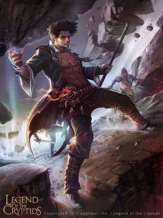 Legend Of The Cryptids Fantasy Warrior, Fantasy Male, Fantasy Rpg, Fantasy Artwork, Dark Fantasy, Fantasy Character Design, Character Inspiration, Character Art, Fantasy Pictures