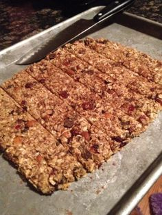 Low-Fat Granola Bars with Banana, Cranberries & Pecans | Food ...