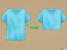 Image intitulée Cut a Tshirt Cute Step 1