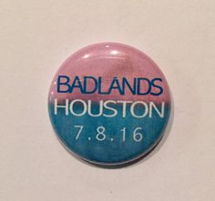 BADLANDS Pin | Halsey Button, 1 Inch Button, Tour Button, Badlands Tour Button, Magnet, Zipper Pull OR Bracelet by bymissrose on Etsy