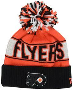 1006e2a92ad New Era Philadelphia Flyers Rep Your Team Pom Knit Hat Men - Sports Fan Shop  By Lids - Macy s