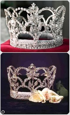 Rose Queen Pasadena 1993-2004-Crown@USA Rose Queen, Royal Court, Queen Crown, Tiaras And Crowns, Bling, Image, Jewelry, Roses, Usa