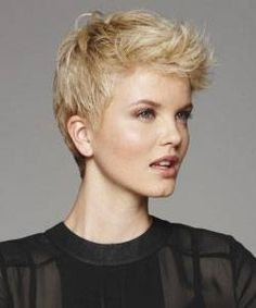 How many ways to wear a pixie haircut? Casual, working or dressy. With styling techniques and products you can go from elfin to executive to elegant
