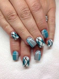 35 Gingham And Plaid Nail Art Designs Art And Design Fall Nails fall plaid nails Plaid Nail Designs, Plaid Nail Art, Plaid Nails, White Nail Designs, Cool Nail Designs, Argyle Nails, Plaid Design, Classy Nails, Fancy Nails