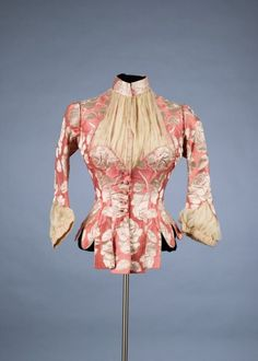 Bodice by Charles Frederick Worth, 1880–85.