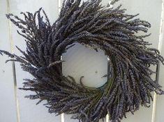Autumn Wreaths For Front Door, Fall Wreaths, Christmas Wreaths, Purple Wreath, Lavender Wreath, Indoor Wreath, Outdoor Wreaths, Dried Flowers, Blue Flowers
