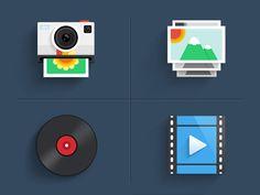 Mobile Theme by _Bosco Flat Design, Ui Design, Icon Design, Graphic Design, Mobile Icon, Simple Icon, Free Icon, Pictogram, Bmw Logo
