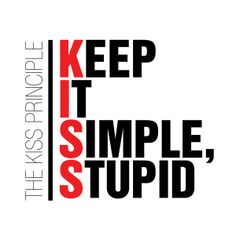 Monday Motivation: Keep It Simple Stupid // New Post Is Up on the Blog :)