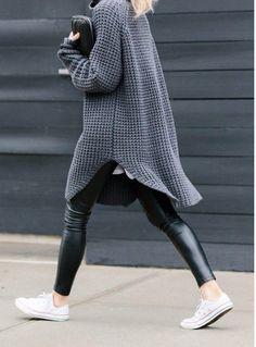 Way We Style -Oversize Strickpullis