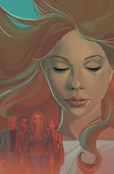 Buffy the Vampire Slayer: Season 9 Cover A (Virgin Cover) (Cover Artist: Michelle Madsen & Phil Noto) On Sale: Comic Book Covers, Comic Books, Phil Noto, Fangirl, Comic Face, Buffy Summers, Buffy The Vampire Slayer, Dark Horse, Urban Art