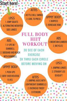 Metabolic HIIT Circuit Workout