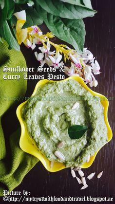 Sunflower Seeds And Curry Leaf Pesto
