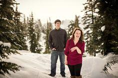 Kelsey Michelle   Photography   Mount Baker Engagement   Bellingham Engagement Photographer   Bellingham Wedding Photographer. Winter Wonderland Engagement. Mountain Snow Engagement.