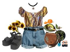 """ill leave u in the summertime"" by laurelferrari ❤ liked on Polyvore featuring John Lewis, Retrò and Dr. Martens"