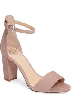 Vince Camuto Corlina Ankle Strap Sandal (Women) (Nordstrom Exclusive) available at #Nordstrom