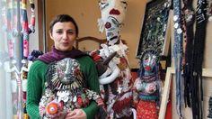 Mona Loison, artiste « textile » brestoise.