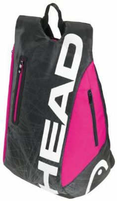 e05d1df87303 Head 2013 Tour Team Tennis Backpack (Black Pink) by HEAD.  39.95.