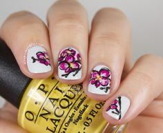 The Beauty Buffs - Radiant Orchid Trend: Nail Art & Tutorial