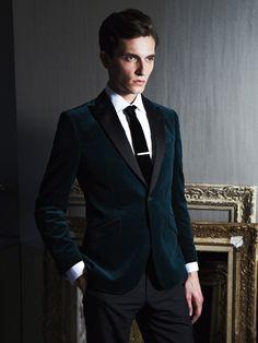 How to Style Your AW14 Velvet Blazer