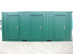 Self-storage units converted by Container Care ltd