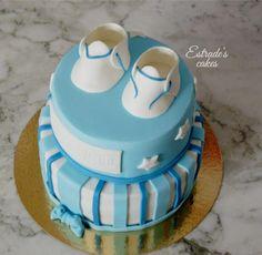 Estrade's cakes: tarta para el bautizo para Pablo