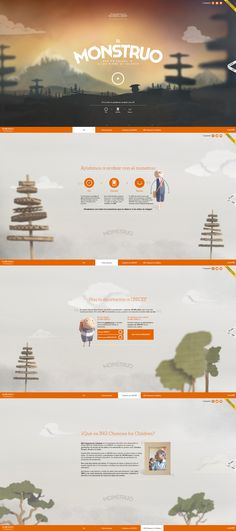 Unique Web Design on the Internet, Monstruo #webdesign #websitedesign #website #design http://www.pinterest.com/aldenchong/