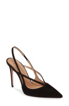 online shopping for Aquazurra Soul Slingback Pump (Women) from top store. See new offer for Aquazurra Soul Slingback Pump (Women) Pump Shoes, Women's Pumps, Shoe Boots, Women's Shoes, Shoes Style, Shoes Sneakers, Flat Shoes, Nike Shoes, Boy Shoes