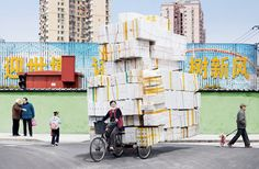 Weird and wonderful photos of enormous stacks and piles, by Alain Delorme