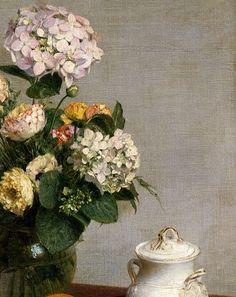 Jan's Page of Awesomeness! >. : spoutziki-art:     Henri Fantin-Latour - Flowers...