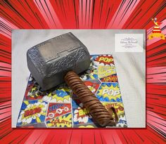Thors Hammer, Marvel Fan, Comic Strips, Collaboration, The Originals, Cake, Pie Cake, Pie, Comic Books