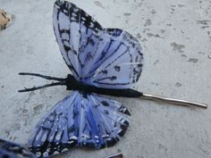 Lovely Butterfly Hair Pins by Shelithas on Etsy, $5.25
