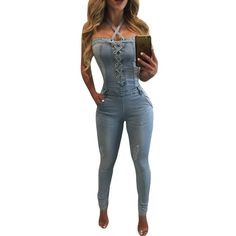750683ca64e Item Type  Jumpsuits   Rompers Gender  Women Pattern Type  Solid Type  Jumpsuits  Brand Name  Caiyoo Fit Type  Skinny Fabric Type  Broadcloth Decoration  Bow  ...