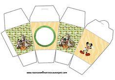 Mickey Baby Showers, Baby Mickey, Minnie, Safari Party, Animal Birthday, Jungle Animals, Scrap, Miniatures, Kids Rugs
