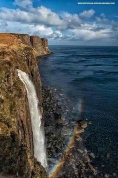 Kilt Rock and Mealt Falls.....Isle of Skye, Scotland.