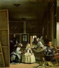 Las Meninas by Diego Velazquez - one of the most memorable paintings in the Prado.  So much going on in there!