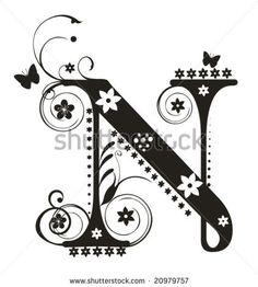 180 Best N For Nancy Images Letter N Quilling Alphabet Letters