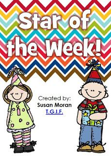 #FreebieFriday ~ Star of the Week Classroom Booklet! #FREE