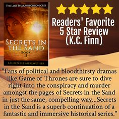 The Lost Pharaoh Chronicles continue and it is starting off with a bang! Available on Amazon or give a like on facebook.com/llmbooks or visit www.laurenleemerewether.com to stay updated!