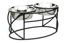 Raised Oval Cross Dog Diner