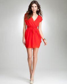 Red Bebe dress $98