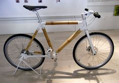 ross lovegrove: 'the bamboo' bicycle for biomega at milan design week 09 - designboom | architecture