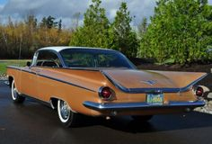 """This 1959 Buick Electra two-door hardtop is described as a numbers-matching survivor with almost all of its original paint as well as its original interior. These """"Delta Wing"""" Buicks were GM's response to Chrysler's """"Forward Look"""" cars and are not often found in this condition. We like this dea"""