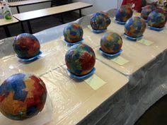 Paper Mache in the classroom
