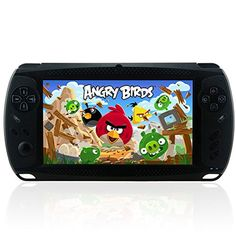 "Megafeis G810 7"" Inch 8GB 1080P Android Handheld Portable Game Console Tablet PC Dual-Camera MP3/MP4/MP5 Media Player PSP Style Wifi HDMI (Black) New Year Christmas Thanksgiving Day best gift present for children - http://www.specialdaysgift.com/megafeis-g810-7-inch-8gb-1080p-android-handheld-portable-game-console-tablet-pc-dual-camera-mp3mp4mp5-media-player-psp-style-wifi-hdmi-black-new-year-christmas-thanksgiving-day-best-gift-present/"